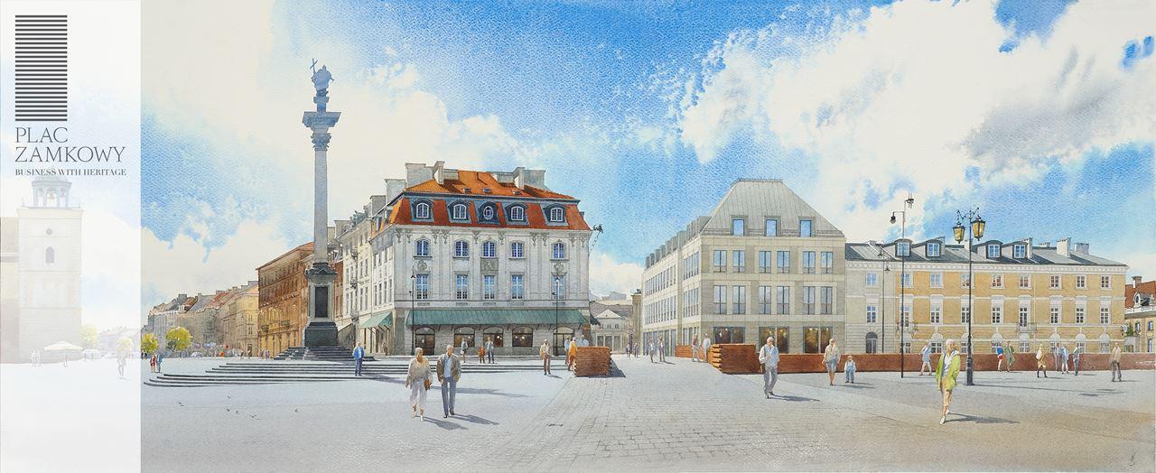 Panorama Pl. Zamkowy