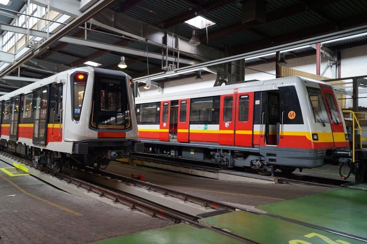 Francuskie sk ady b d podobne do poci g w inspiro for Do metro trains have bathrooms