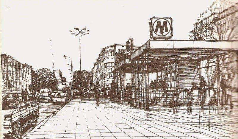9889 metro rakowiecka 1988