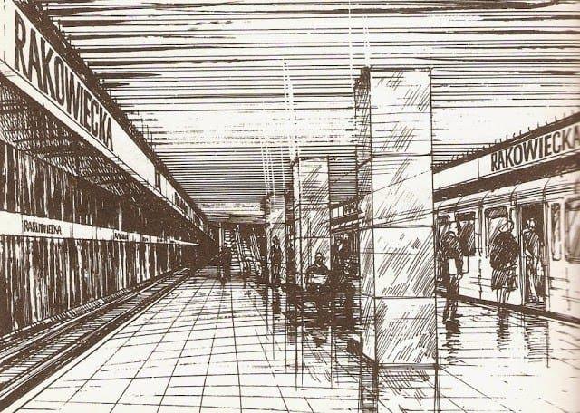 9891 metro pole mokotowskie 1988