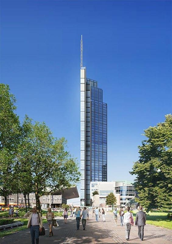 Najwyższy wieżowiec w Warszawie Varso
