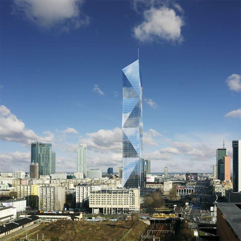 Najwyższy wieżowiec w Warszawie kulczyk