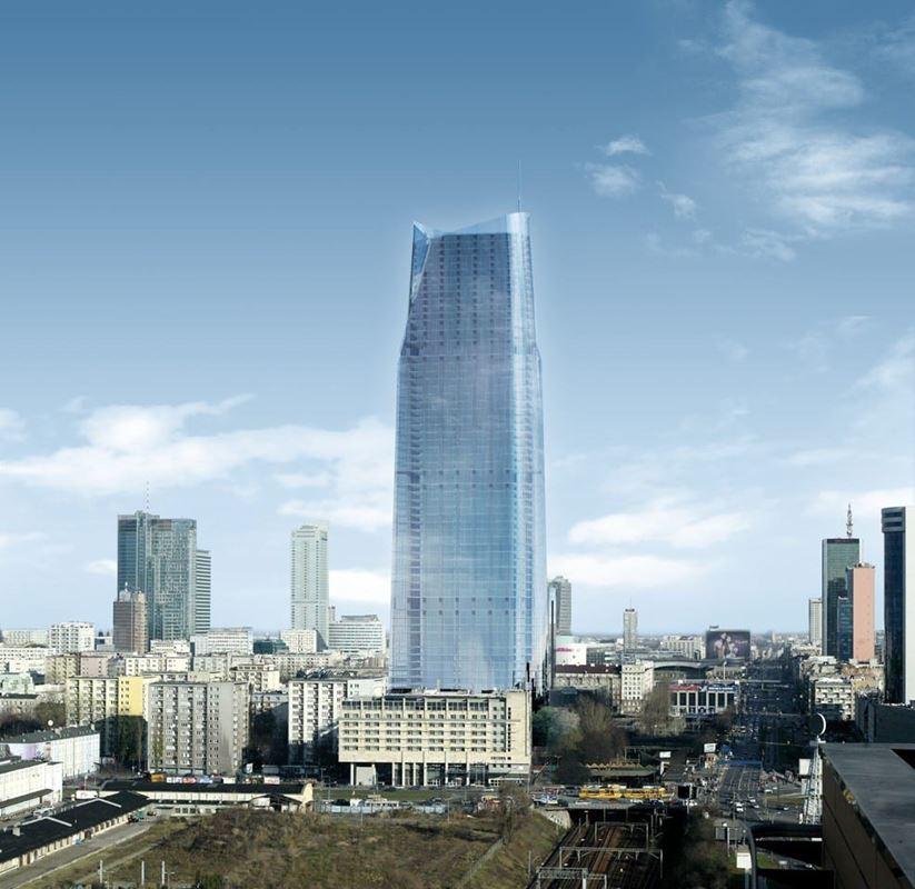 Najwyższy wieżowiec w Warszawie kulczyk 2