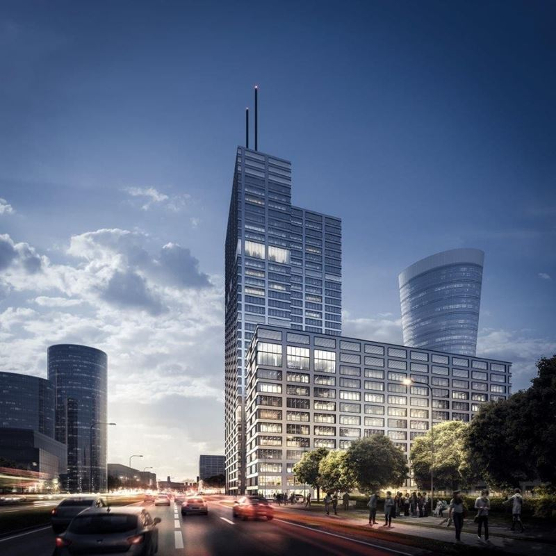 Generation Park_budynek X od ulicy Wroniej