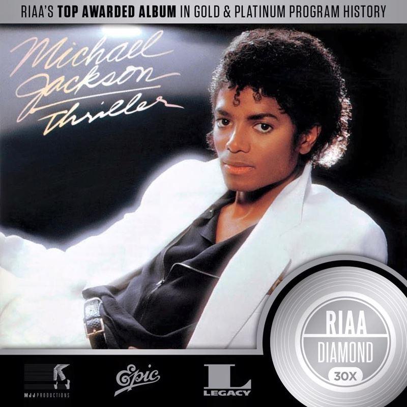 Thriller na najlepiej sprzedajacy się album wszech czasów