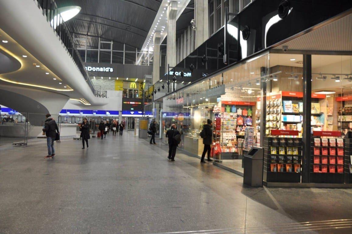 Estetyzacja Dworca Centralnego w Warszawie (2)