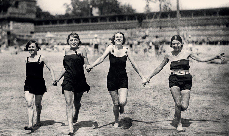 Nadwiślańskie plaże, 1925-27