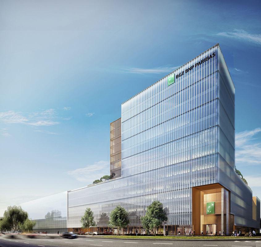 4477d640ddd0f5 Yareal wybuduje w Warszawie nową siedzibę banku BGŻ BNP Paribas -  NowaWarszawa.pl