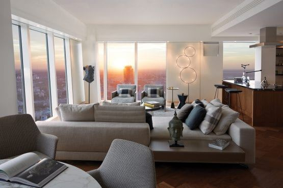 Wieżowiec Warszawa Apartament wizualizacja