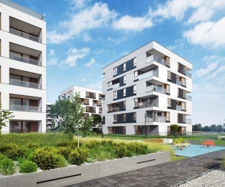 Mieszkania Targówek Nowy Targówek Warszawa projekt wizualizacji