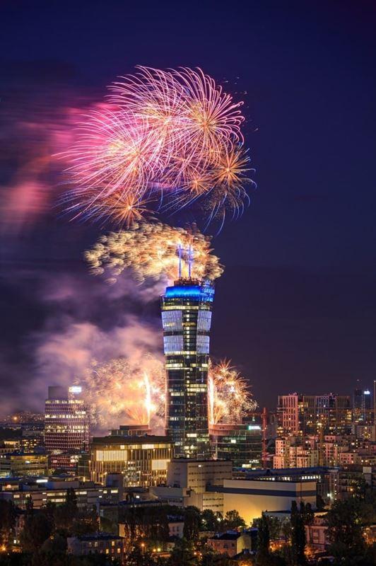 warsaw-spire-fireworks