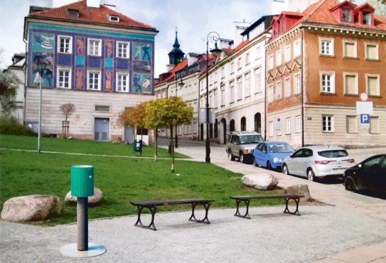 Zwycięski projekt warszawskiego poidełka