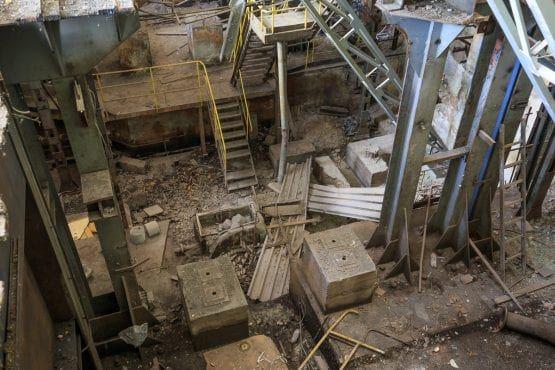 Pierwotnie poprzedni właściciel chciał wyburzyć zabytkowe hale.