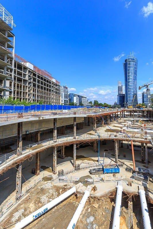 Warsaw Hub budowa