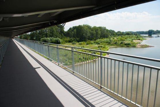 most Łazienkowski kładka rowerowa