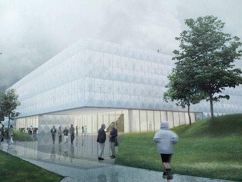 Centrum Nauki Kopernik Pracowania Przyszłości wizualizacja