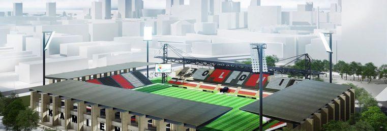 Polonia Warszawa wizualizacja nowego stadionu