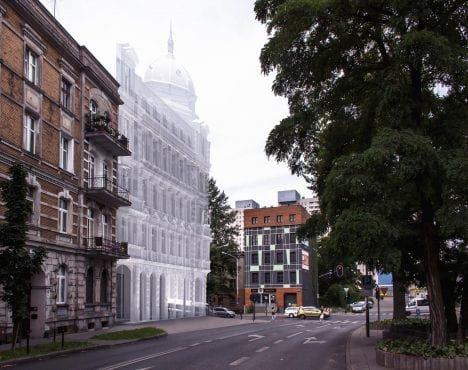 Konkurs Współczesna Kamienica Łódzka 2017 wizualizacja projektu