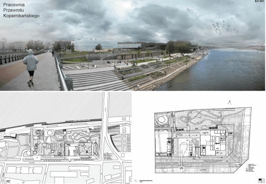 Centrum Nauki Kopernik powiększa się plany budowy