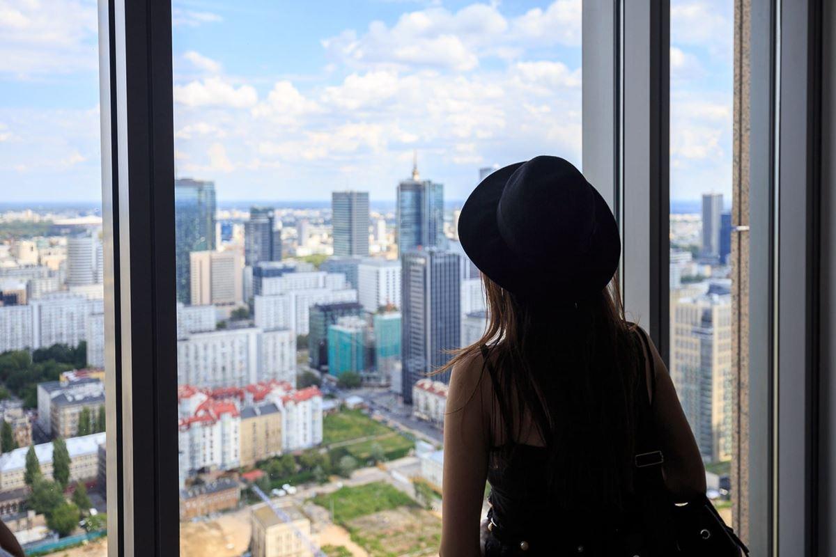 instameet canon warszawa panorama miasta