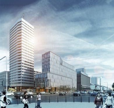 centrum Marszałkowska wizualizacja projektu
