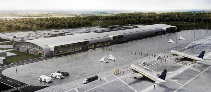 lotnisko warszawa modlin wizualizacja po przebudowie