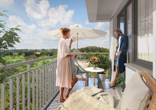 balkon Bartycka wizualizacja