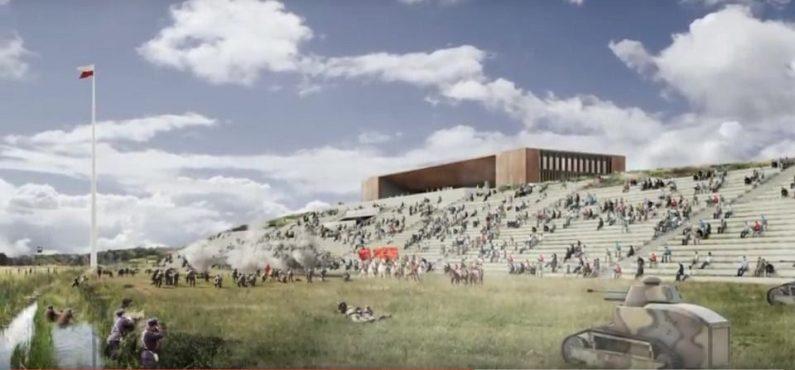 projekt Muzeum Bitwy Warszawskiej w Ossowie