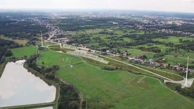 miejsce budowy Muzeum Bitwy Warszawskiej w Ossowie