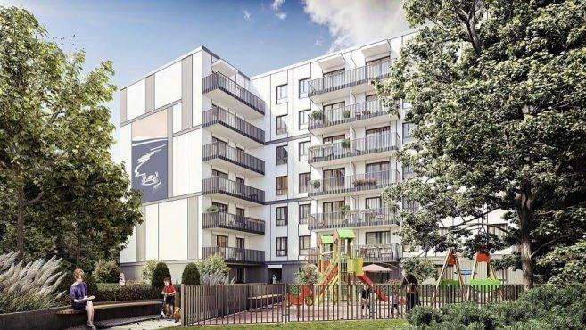 Dom Development Port Żerań wizualizacja inwestycji