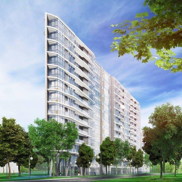 Pierwszy projekt apartamentowca Miami Place