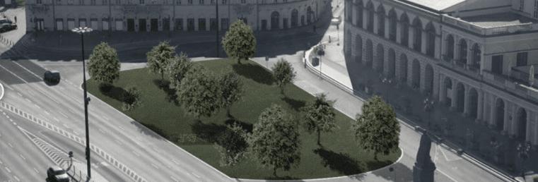 infrastruktura warszawa śródmieście miejska przestrzeń parkingowa