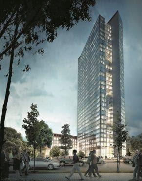 wieżowiec warszawa wola Liberty wizualizacja inwestycji