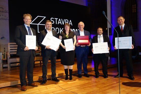 Wieżowiec Warszawa Wola Warsaw Spire gala konkursowa Stavra