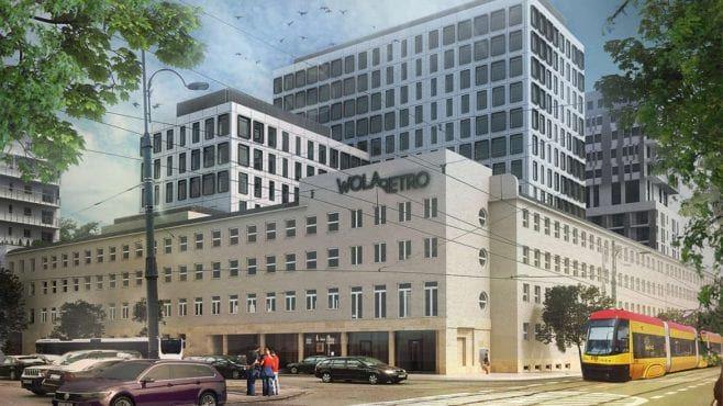 biura warszawa wola wola retro wizualizacja inwestycji