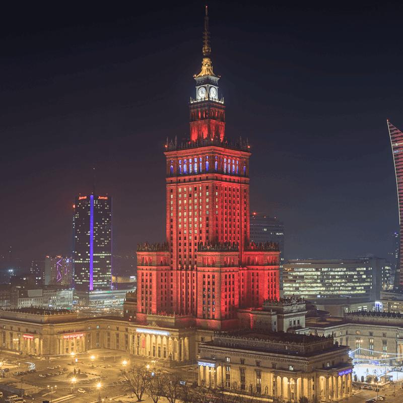 wyburzenie pałacu kultury i nauki
