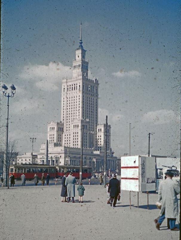 Pałac Kultury i Nauki, Warszawa 1956