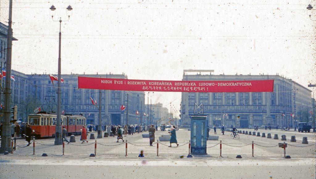 Plac Konstytucji, Warszawa 1956