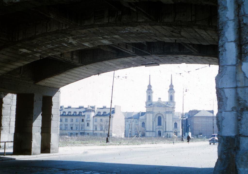 Katedra Polowa na pl. Krasińskich.