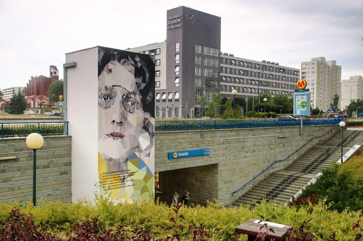 maria-grzegorzewska-mural-na-stacji-imielin