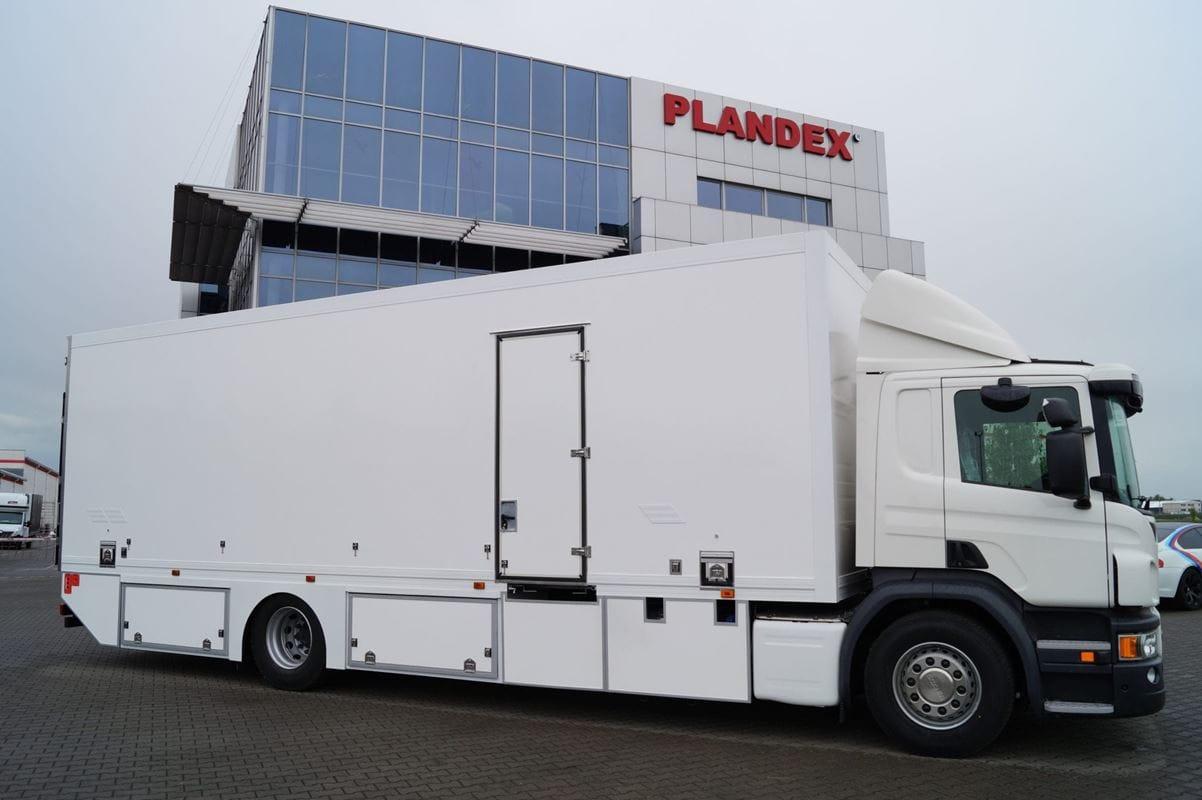 Tylko na zewnątrz PLANDEX - zabudowy i przyczepy do samochodów ciężarowych CX28