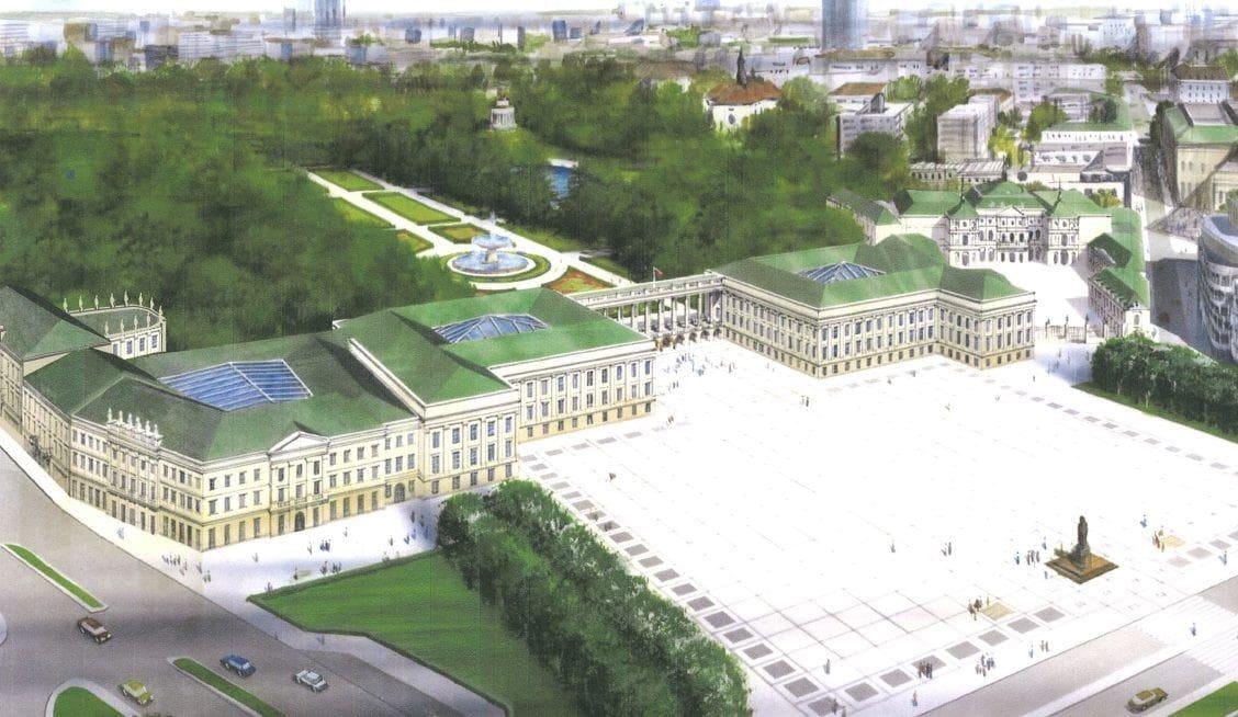 Pałac Saski po odbudowie