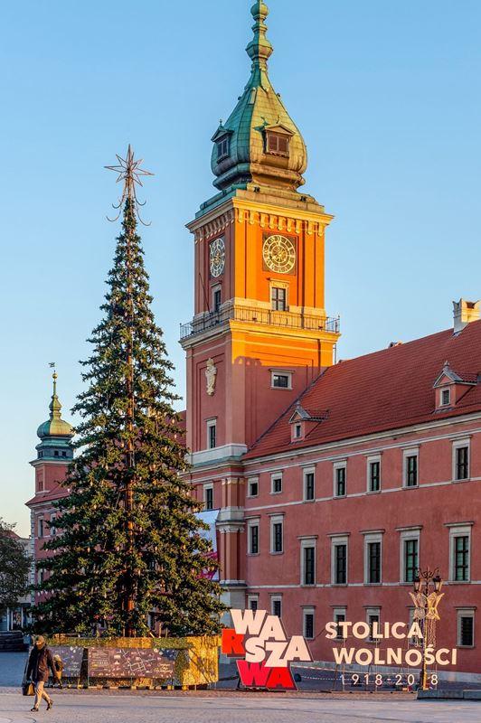 Do Warszawy Nadjeżdżaja Boże Narodzenie Nowawarszawapl