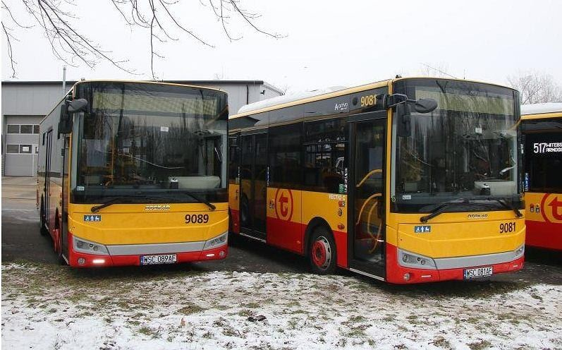 Nowe autobusy wyjadą jutro na ulice Warszawy