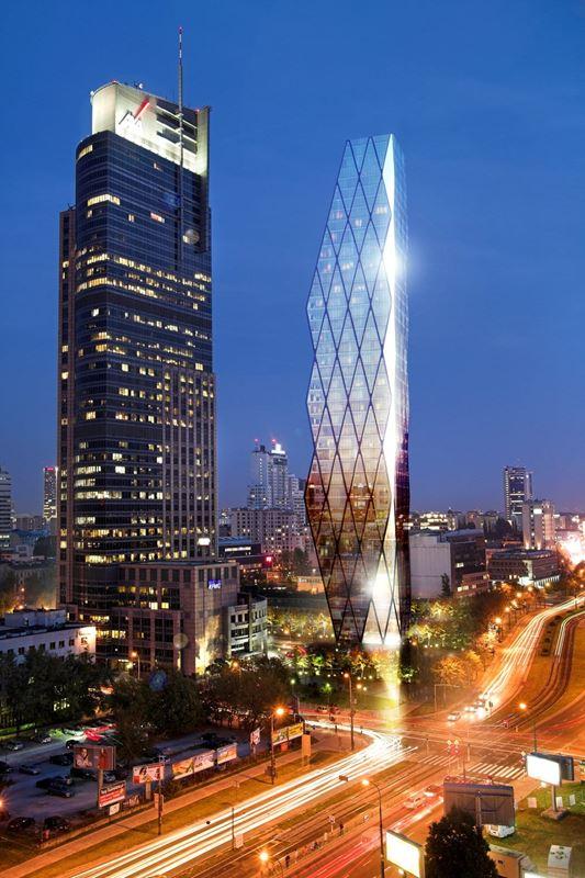 Wola Tower, nowy wieżowiec przy Towarowej.
