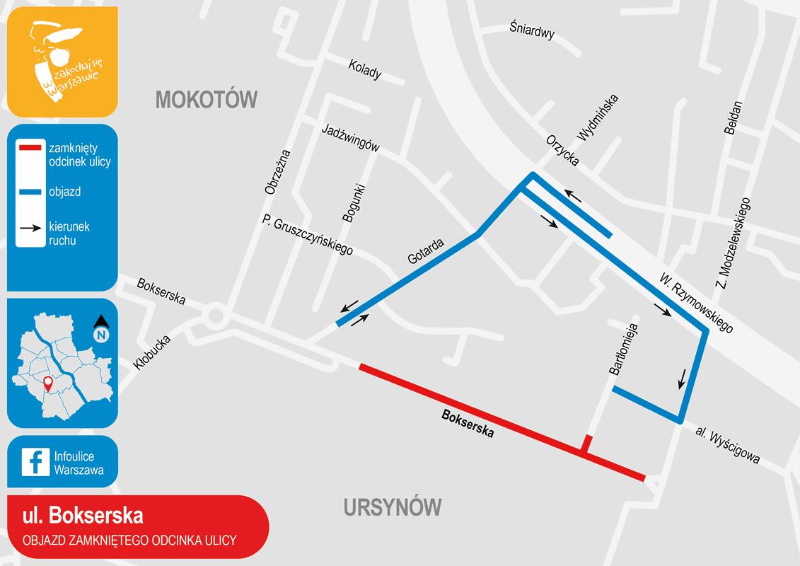 ul-bokserska-objazd-zamknietego-odcinka-ulicy