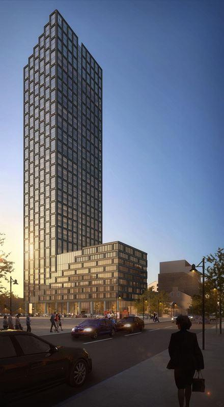 Zwycięski projekt wieży Liberty Tower. Budowa rozpocznie się w przyszłym roku.