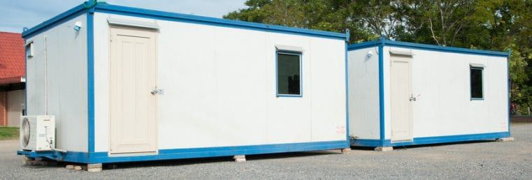 Cargo container house