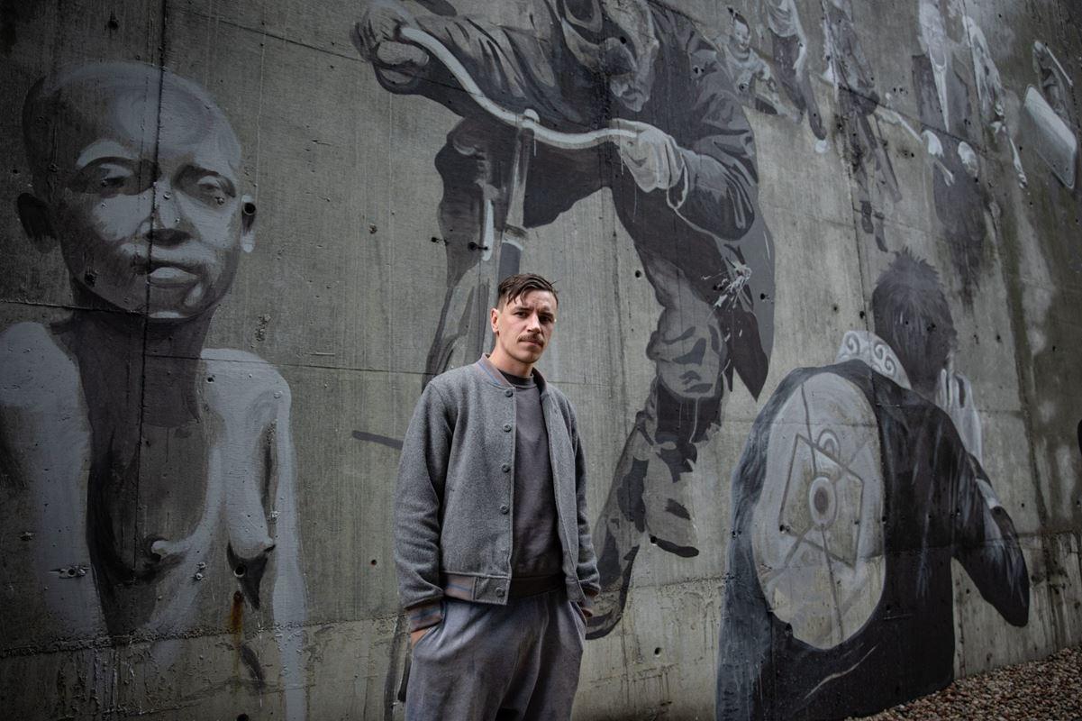 08.09.2019 Warszawa , ulica Czerska 8 / 10.  Bruno Althamer .  Fot. Dawid Zuchowicz / Agencja Gazeta